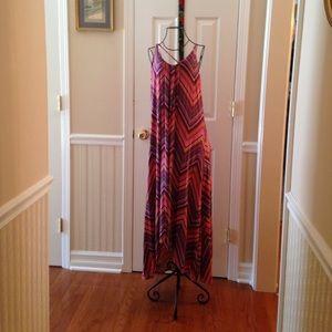 Cynthia Rowley spaghetti strap long dress beautifu