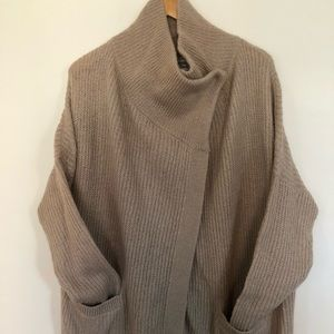 Abercrombie and Fitch oversized cardigan