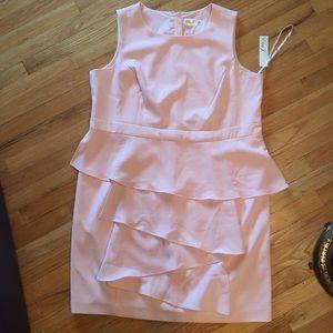 NWT Eliza J size 20 sleeveless pink dress