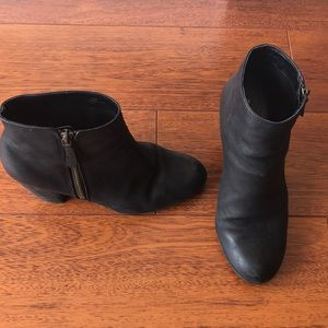 BP Black Leather boots size 7.5