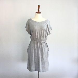 NWT H&M Gray Short-sleeved Dress