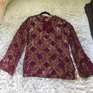 Stunning Tory Burch blouse