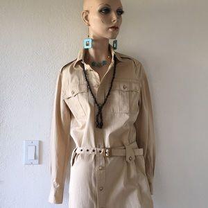 Ralph Lauren safari dress