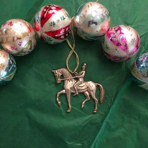 Gorham Sterling Christmas Ornament