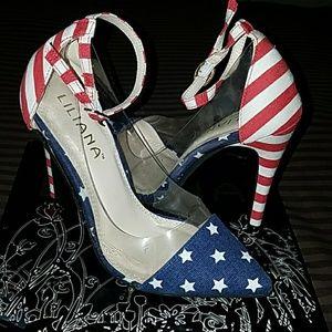 Americana Liliana heels