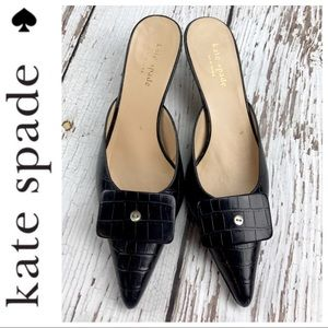 💕SALE💕 Kate Spade Black Kitten Heels