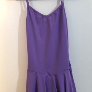 Light purple dance dress costume