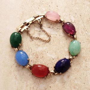 Classic Jelly Bean Bracelet and Bonus Earrings