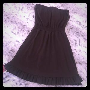 Brown halter dress, Size Small