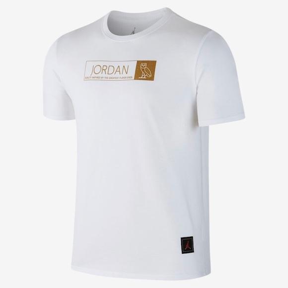 f150be01f5d7 Jordan OVO Drake tour t shirt. NWT. Jordan.  100  70. Size. M