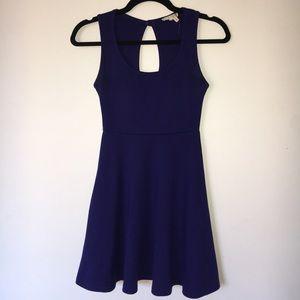Pacsun   blue skater dress
