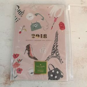 Kate Spade monthly calendar and journal
