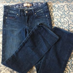 Paige Hollywood Hills classic boot cut jeans