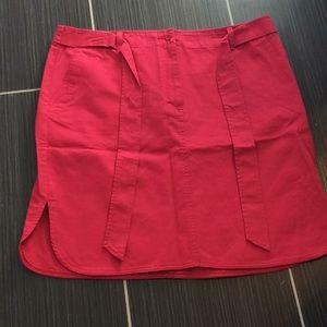 Talbots pink skirt NWT size 14