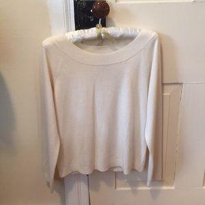 New York & Company  winter white sweater