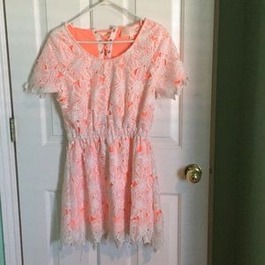JOA  (from urban outfitters) eyelet lace dress S