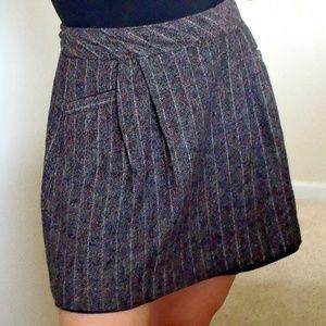 Old Navy Wool Mini Skirt