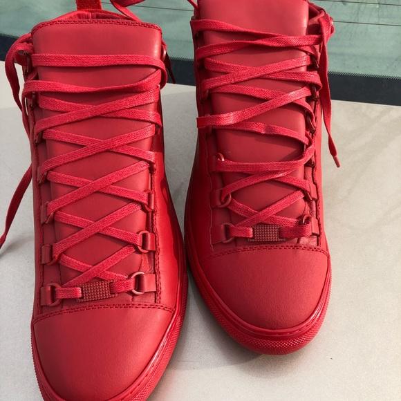 Balenciaga Shoes | Red Balenciaga 42