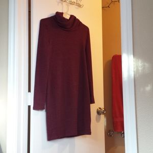 New with tag, Old Navy Cranberry Sweater Dress