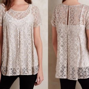 Akemi + Kin lace top from Anthropologie