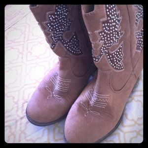 Rhinestone Cowboy Boots for Girls
