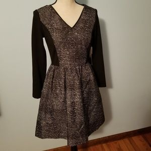 NWT Kensie Black and White Dress Size XS