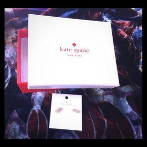 NWT Kate Spade bow earrings  - Christmas gift 🎁