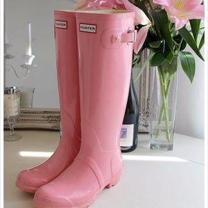 💌Host Pick 💌 NWT Hunter Pink Tall Rain Boots
