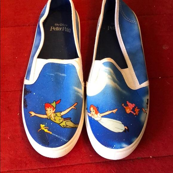 c2dc35fa430c Peter Pan Disney neverland slip on vans shoes