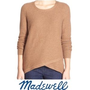 Madewell Feature Pullover Knit Sweater size XS