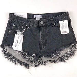 New Urban Outfitters Shorts Black Medium Glamorous