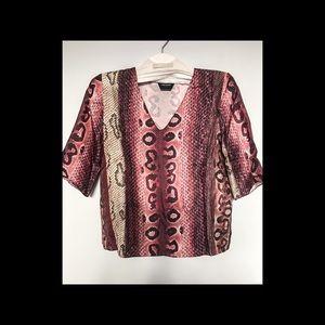 Longchamp silk top