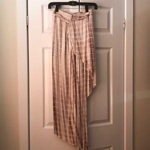 SABO SKIRT - hi low flowy skirt