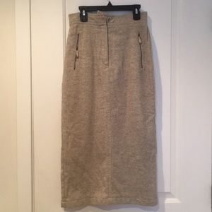 Vintage sweater skirt