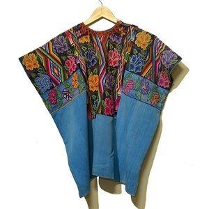 70's Vintage HandWoven Guatemalan Huipil