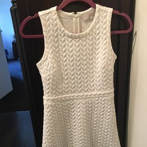 White dress from Loft