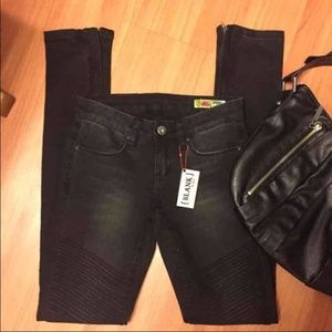 NWT - Blank NYC - Motorcycle Skinny Jeans - NEW