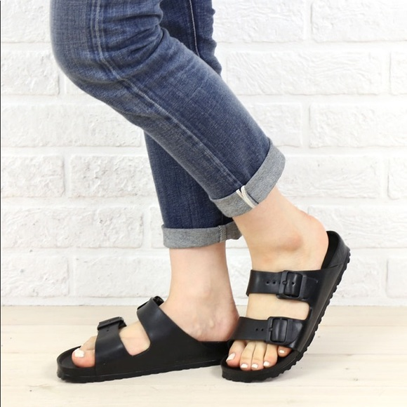 NWB Birkenstock Arizona Eva Sandals-Black ed623a839f6