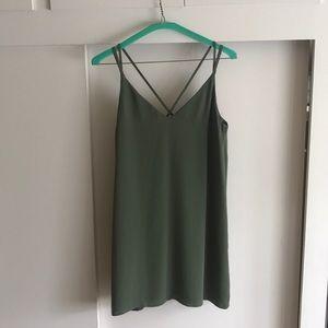 Green Topshop Dreas