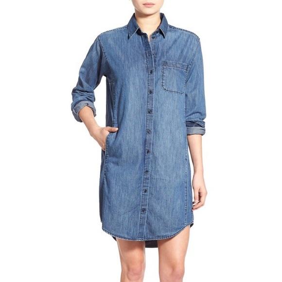 182c0cf65d Madewell Dresses   Skirts - Madewell Denim Sunday Shirtdress size Small EUC