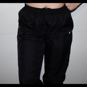 Vintage Black Nike Sweat/Track Pants - Size M