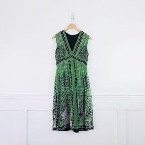 Anthropologie Anna Sui Silk Dress