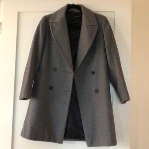 Gray Zara Pea Coat