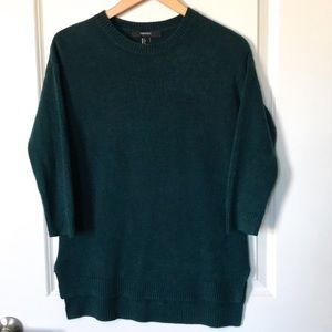 Forever 21 Crew neck green sweater