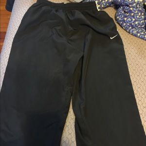 Nike track sweatpants