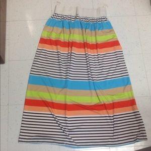 Dresses & Skirts - Multicolor Maxi Skirt