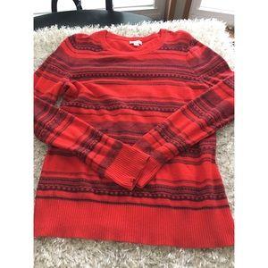 Merona Red Sweater Size XL
