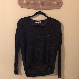 Sparkly Jennifer Lopez sweater