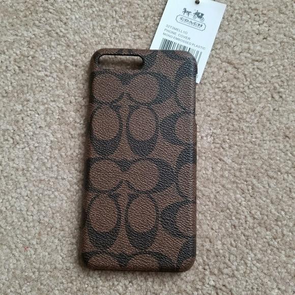 newest 637e6 73b74 Coach Iphone 7 Plus Case