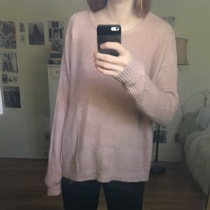 Brandy melville dusty rose pink ollie sweater